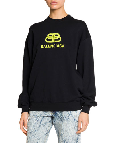 Long-Sleeve BB-Logo Sweatshirt