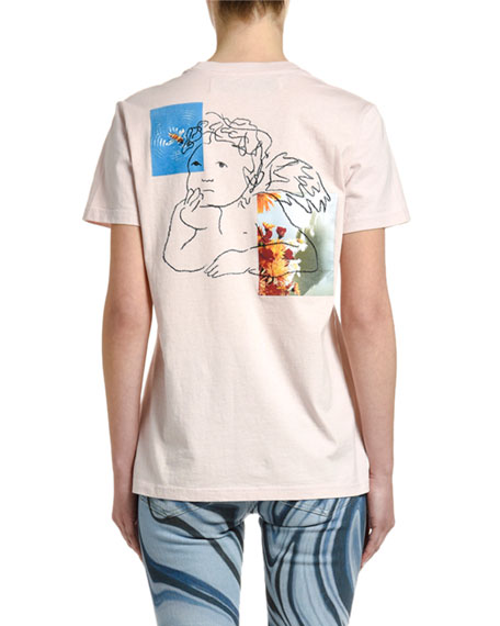 Off-White Angel Graphic Short-Sleeve Tee