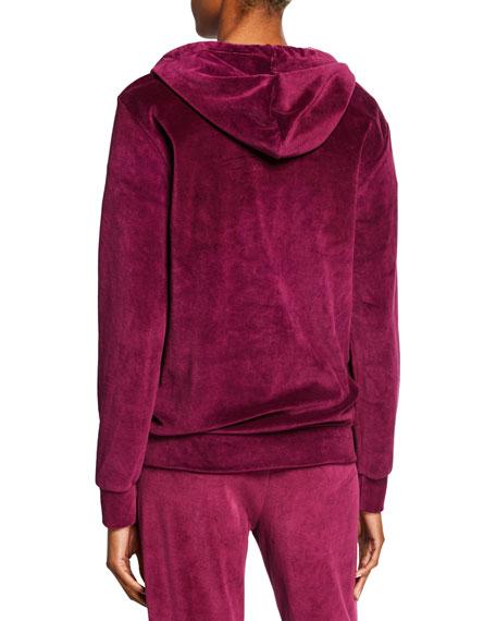 "Rodarte ""Radarte"" Hooded Velour Sweatshirt"