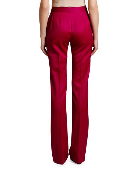 Stella McCartney Straight-Leg Wool Trousers
