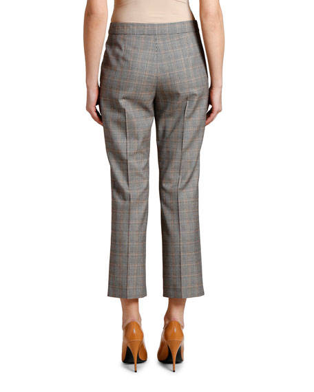 Stella McCartney Checked Cropped Trousers