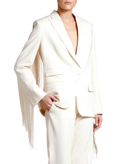 Stella McCartney Full-Fringe Jacket