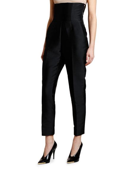 Stella McCartney Super High-Rise Mikado Trousers