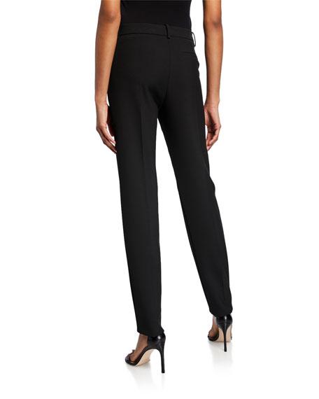 Slim-Leg Cady Pants