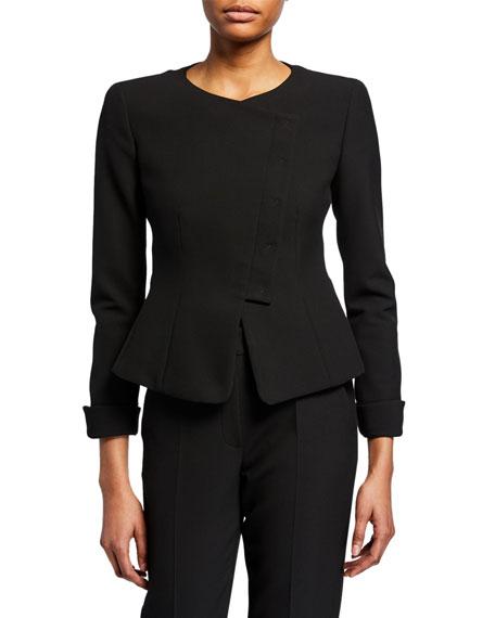 Emporio Armani Asymmetric Cady Jacket