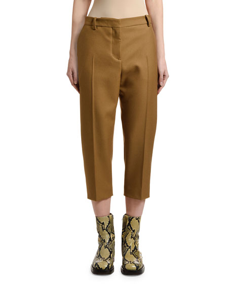 Marni Cropped Wool Pants