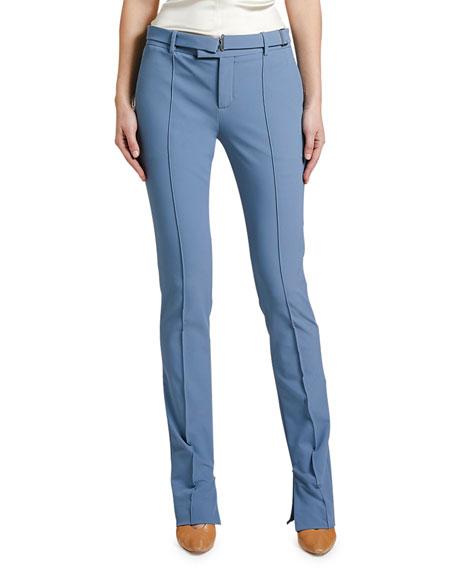Bottega Veneta Straight-Leg Pleated Pants