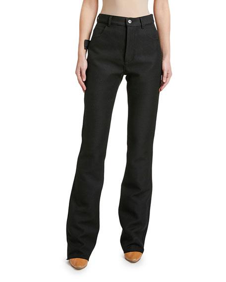 Bottega Veneta Mid-Rise Wide-Leg Jeans