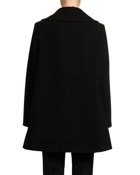 Dolce & Gabbana Belted Double-Face Wool Coat