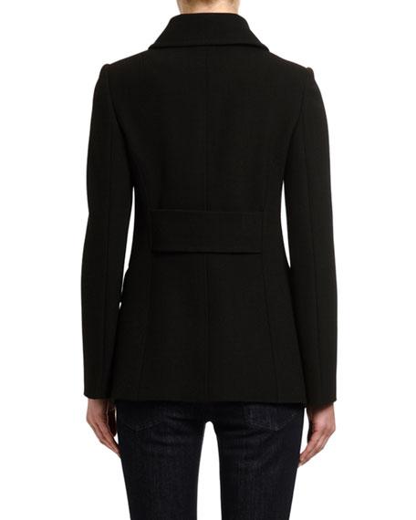 Dolce & Gabbana Short Wool Peacoat