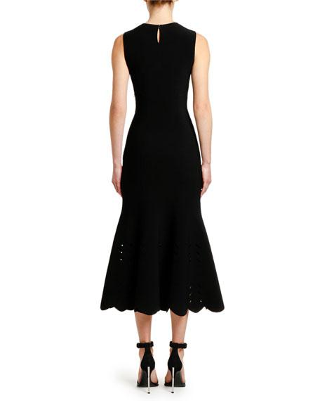 Alexander McQueen Knit Mermaid Midi Dress