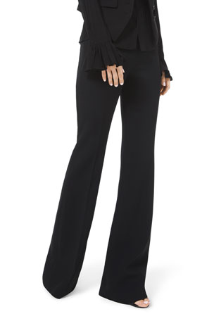 Michael Kors Collection Sable Flare-Leg Pants