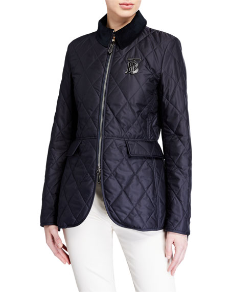 Burberry Equestrian Quilted Jacket