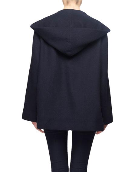 THE ROW Rayna Hooded Wrap Coat