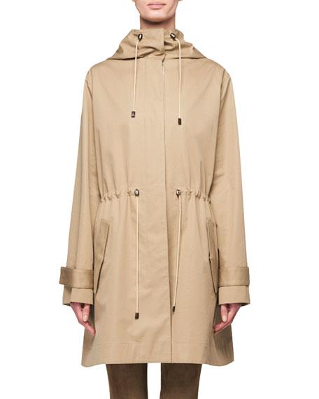 THE ROW Haze Hooded Anorak Raincoat