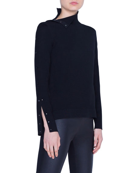 Akris punto Wool Turtleneck Sweater