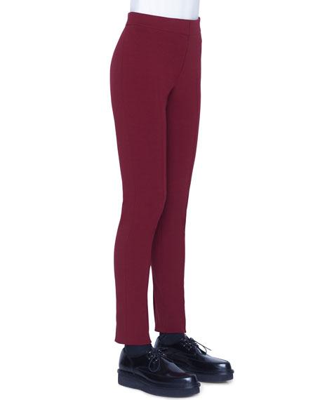Akris punto Mara Jersey Pants, Ruby