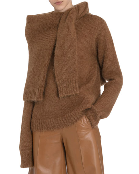 Rokh Chunky Mohair Double Sweater