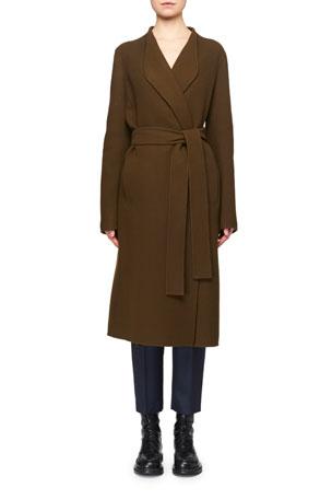 THE ROW Terin Foamy Wool-Cashmere Coat