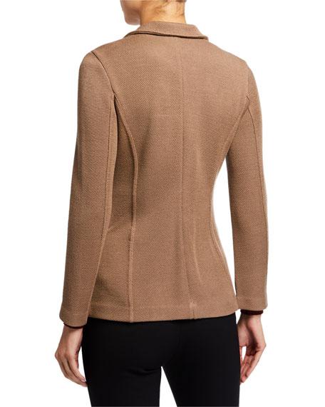 Giorgio Armani Wool-Viscose Button-Front Jacket
