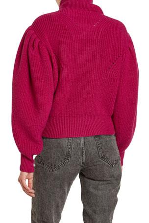 "Men`s New Boston Crew Lambswool Rich Cable Knit Jumper Size Medium 40/"" Burgundy"