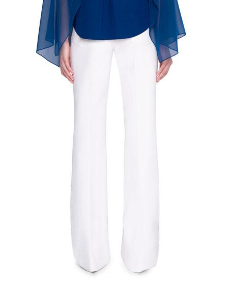 Akris Farid Boot-Cut Jeans