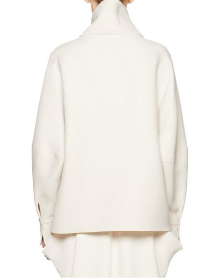 THE ROW Makie Mock-Neck Sweater