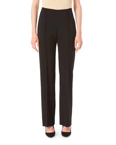 Icon 2.0 Wide-Leg Wool Crepe Pants