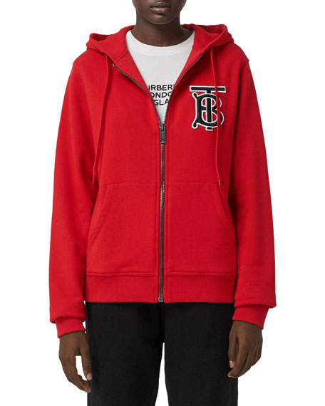 Burberry Aubrey Hooded Jacket