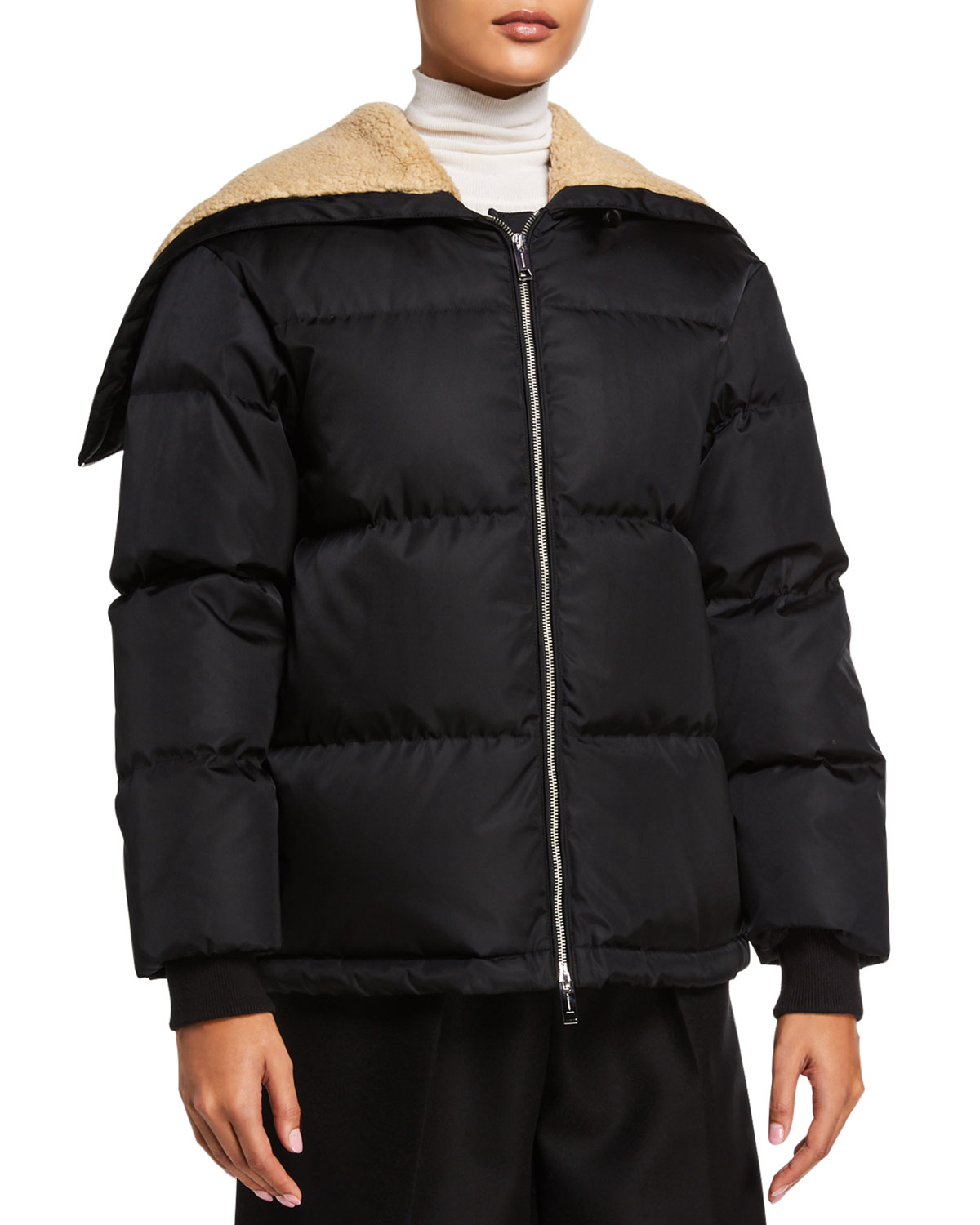 Down Filled Jacket by Burberry