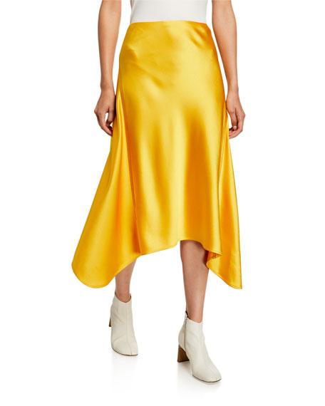 Sies Marjan Skirts Satin Asymmetric Skirt