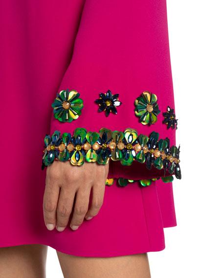 Andrew Gn Keyhole Mini Dress