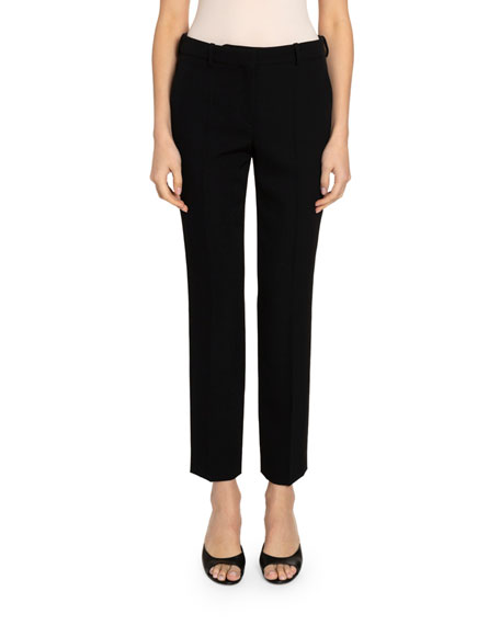 Image 1 of 2: Givenchy Grain de Poudre Cigarette Trousers