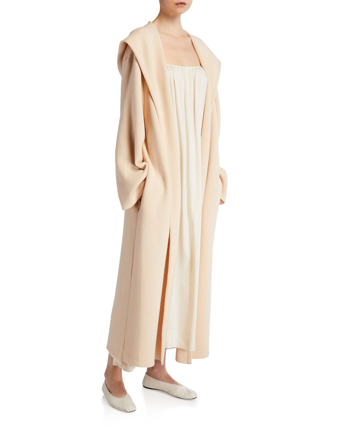 THE ROW Eliona Merino Wool Cashmere Coat and Matching Items & Matching Items