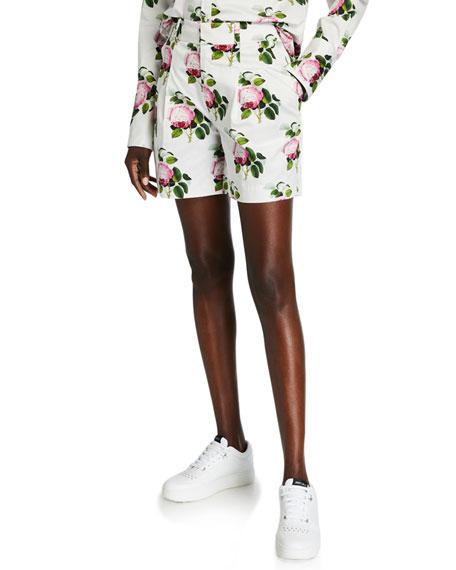Libertine English Garden Pleated Shorts