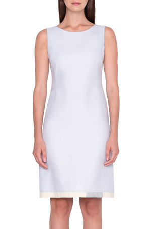 Akris Cotton-Silk Sheath Dress