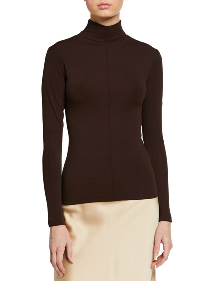 Bottega Veneta Jersey Turtleneck Top