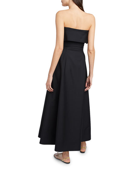 THE ROW Dario Strapless Cocktail Dress