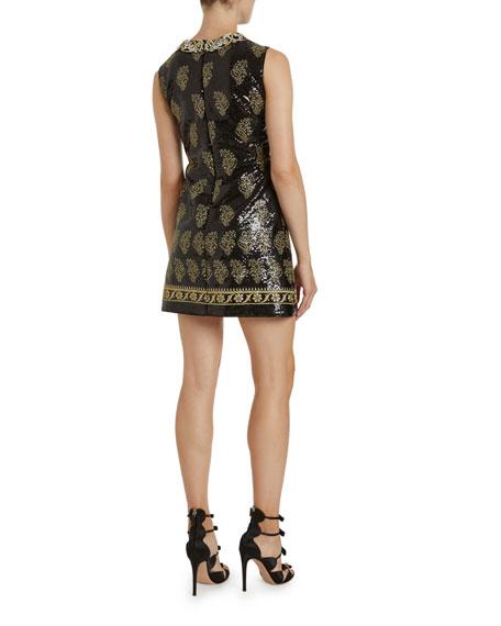 Giambattista Valli Sequined Shift Dress