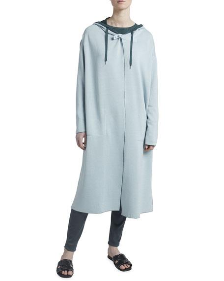 Maison Ullens Cashmere-Silk Reversible Coat