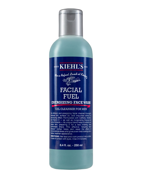 Facial Fuel Energizing Face Wash Gel Cleanser For Men, 8.4 fl. oz.