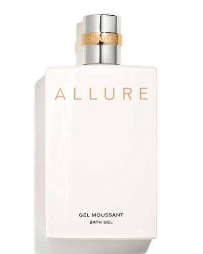 <b>ALLURE</b><br>Bath Gel 6.8 oz.