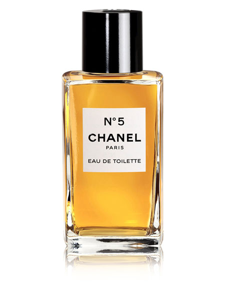<b>N°5 </b><br>Eau de Toilette Bottle, 3.4 oz./ 100 mL