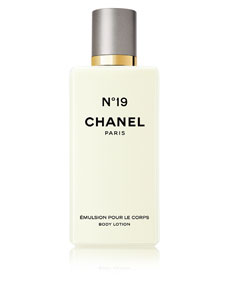 chanel n 19 body lotion. Black Bedroom Furniture Sets. Home Design Ideas