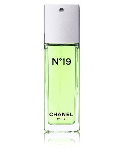 CHANEL N°19<br>Eau de Toilette Spray 3.4 oz.