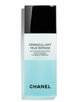 CHANEL DÉMAQUILLANT YEUX INTENSE<br>Intense  Gentle Bi-Phase Eye Makeup Remover 5 oz.