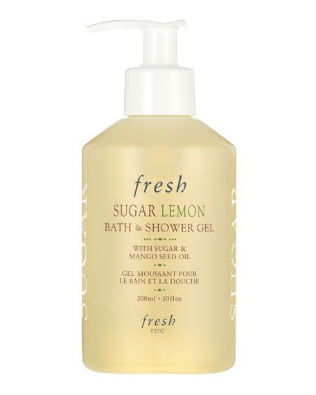 Fresh Lemon Sugar Bath and Shower Gel