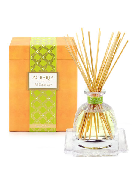 Agraria Lemon Verbena AirEssence Fragrance with Tray, 7.4
