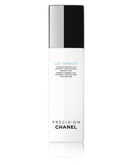 CHANEL LAIT CONFORT<br>Creamy Cleansing Milk Comfort + Anti-Pollution Face And Eyes 5 oz.