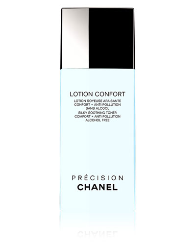 CHANEL LOTION CONFORT<br>Silky Soothing Toner Comfort + Anti-Pollution 6.8 oz.